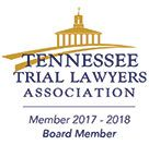 Logo Recognizing GriffithLaw's affiliation with Tennessee Trial Lawyers Association